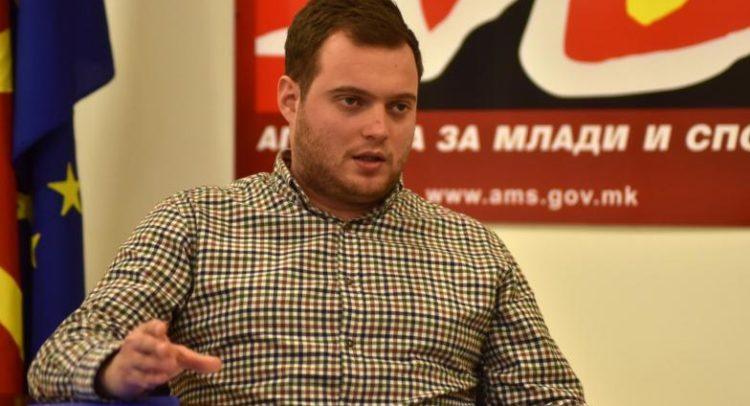 Дарко Каевски - директор на Агенција за млади и спорт